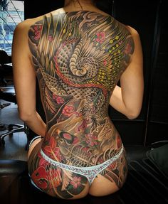 Thanks for the making the trip here to do this in less than 2 weeks, Helen. #monkeykingtattoo #jefftam #backpiece #japanesetattoo #irezumi #asianstyletattoo #girlswithtattoos #dedication... ~ Sexy