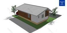 แบบบ้านชั้นเดียว แบบบ้านโมเดิร์น แบบบ้านรีสอร์ท แบบสร้างบ้าน + BOQ ใช้กู้ธนาคาร ขออนุญาตก่อสร้าง | DataBKK.com Shed, Outdoor Structures, Barns, Sheds