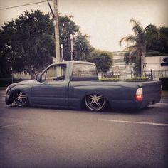 bas1cphotography:  #minitruck #minitruckin #onsillsdotcom #bagged #bodydrop #airbag #truckin #airride #airsispension #pickup