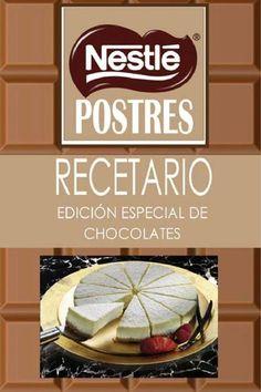 postres de chocolate,trabajo propuesta