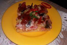 Pizza casei Waffles, Pizza, Breakfast, Food, Morning Coffee, Essen, Waffle, Meals, Yemek