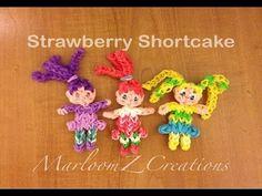"Rainbow Loom Strawberry Shortcake ""Pictorial"" - Original Design"