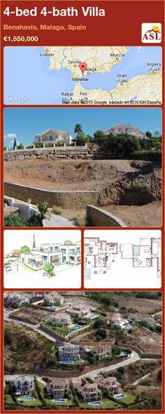 4-bed 4-bath Villa in Benahavis, Malaga, Spain ►€1,550,000 #PropertyForSaleInSpain