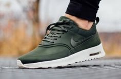 Carbon Green Covers this Nike Air Max Thea