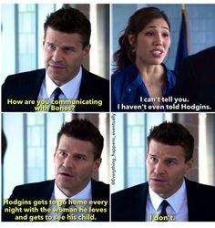 Season 8, when Bones was still on the run. So hard to watch Booth go through that.