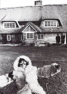 The Rolling Stones Keith Richards at his Redlands home in Sussex...or possibly Antarctica