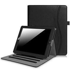 Fintie Case for iPad 2 3 4 (Old Model) - [Corner Protection] Multi-Angle Viewing Folio Smart Stand Cover w/Pocket, Auto Sleep/Wake for iPad iPad 3 & iPad Gen with Retina Display, Navy Wireless Headphones For Tv, Running Headphones, Ipad Mini 3, Cheap Accessories, Laptop Accessories, Kindle Fire Kids, Ipad 4th Generation, Amazon Electronics, Leather Case