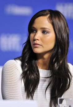 Jennifer Lawrence at the Silver Linings Playbook press conference