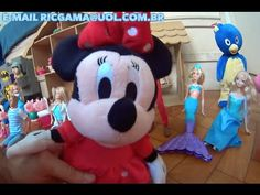 Minie Mouse Peppa Pig Barbie Ken Baby Alive cadê o Mickey Mouse ?  Dolls...