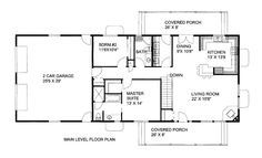 1500+square+foot+house+plans | 1500 square feet, 2 bedrooms, 2 batrooms, 2 parking space, on 1 levels ...