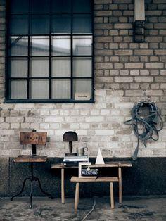 [인더스트리얼 인테리어]인더스트리얼 가구와 빈티지 소품을 이용한 실내 인테리어 : 네이버 블로그