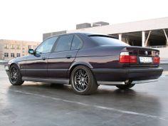 Awesome Very Clean Madeira Violett E34 BMW M5 [1600x1200]