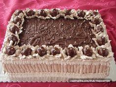 Torte Recepti, Kolaci I Torte, Cake Decorating Designs, Cake Designs, Bunt Cakes, Cupcake Cakes, Cookie Recipes, Dessert Recipes, Bread Recipes