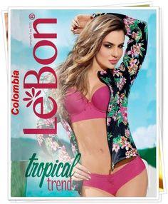 Catalogo Lebon Campaña 5 2015. Nueva colección de ropa colombiana y lenceria de moda.