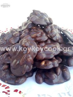 Chocolate Desserts, Chocolate Cake, Health Bar, Greek Sweets, Easy Sweets, Christmas Sweets, Sweet Recipes, Oreo, Deserts
