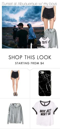 """""""Sunset at Albuquerque w/ my boys"""" by vane-abreu ❤ liked on Polyvore featuring UNIF, Recover, H&M and Vans"""