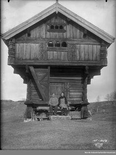 Kromviken. Stabur. 1938