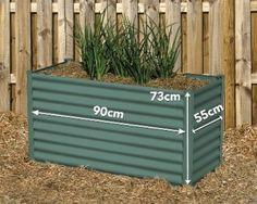 Hexagonal Raised Garden Bed Colour: Paperbark Shape: Hexagonal With Hexies™ raised garden beds' innov Brisbane, Melbourne, Sydney, Raised Garden Beds, Outdoor Furniture, Outdoor Decor, Diys, Wilderness, Colour
