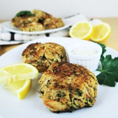 These paleo, gluten-free, and low carb crab cakes are richly seasoned and super easy to make. Only 10 simple ingredients!
