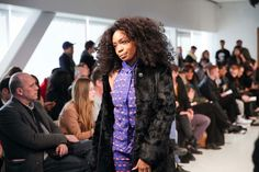 SZA Shares Her Style Notes - The singer at the Telfar Fashion Show