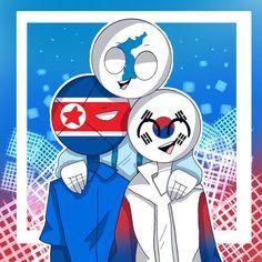 #wattpad #fanfic unas cuantas imagenes q encontre todos los derechos recervados a sus respectivos autores Hetalia, South Korea North Korea, Fanart, Country Art, I Wallpaper, Smurfs, Wattpad, Disney Characters, Fictional Characters