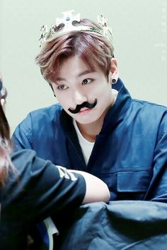BTS | KING Jungkook with Mustache