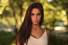 Marlen by Martin Kühn Photography Beautiful Eyes, Beautiful Women, Fuji Xt2, Brunette Beauty, Bokeh, Girl Fashion, Instagram, Long Hair Styles, Hd Wallpaper