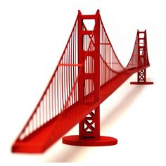 Golden Gate Bridge Model Kit