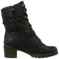 e7eefd50f43 Shoes · Rieker Womens 97114-00 Warm lined classic boots half length  Amazon. co.