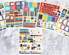 Stickers & Digital Graphic Supplies & Planners by StickersEmpire Life Planner, Planner Stickers, Planners, Etsy Seller, Photo Wall, How To Plan, Unique Jewelry, Handmade Gifts, Digital