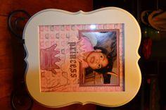8x10 Princess Layout by UniquelyJ on Etsy, $13.00