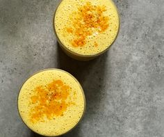 This delicious lassi side-steps the dairy with coconut yogurt, mango, and creamy nuts and seeds. If you don't have a batch of Divine Turmeric Paste this i