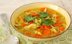 "Easy and healthy Crock-Pot meal!  ""Coconut Chicken Curry Stew"""