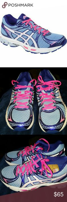womens asics gel exalt running shoes new but without box shake up your evening run