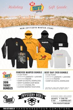 Vans Warped Tour Holiday Gift Guide ❄   093d5bcef