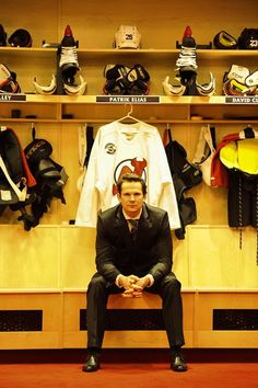 New Jersey Devils forward Patrik Elias