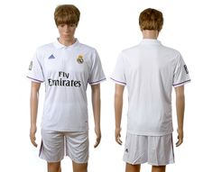 Real Madrid  7 Ronaldo White Home Soccer Club Jersey Soccer Jerseys 4ac65d15f147e