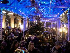Sonntag, 06.12., 17:41 Uhr – Friedrichshain, Postbahnhof: Der beste Designweihnachtsmarkt in town – Weihnachtsrodeo! Mit über 180 Ausstellern und einer tollen Location hat es wieder so richtig gefunzt! © Sibylle Roessler