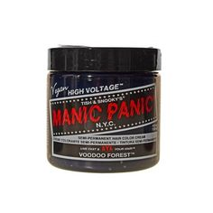 MANIC PANIC Cream Formula Semi-Permanent Hair Color Electric Lizard... ($13) ❤ liked on Polyvore featuring beauty products