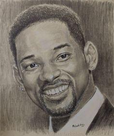 Уилл Смит - портрет карандашом - Will Smith portrait.