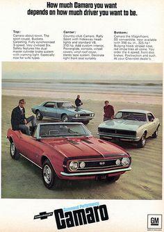 1967 Chevrolet Camaros