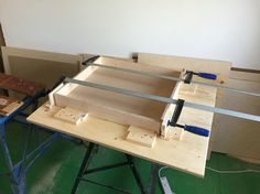 9 drawers to make. Time for a jig.
