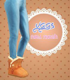 Sims 4 Cc Ugg Slides
