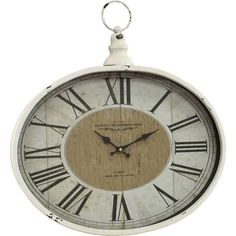 Aspire Home Accents Westminster Pocket Watch Wall Clock - 5258