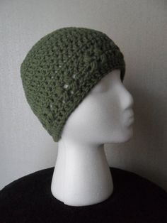 Kylie Hat in Forest  Beanie Beenie Cloche Cap   by LilacsLovables, $18.00