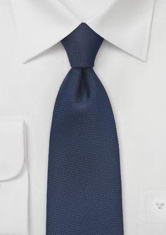 Micro Diamond Tie in Navy