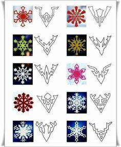Copos de ❄ nieve