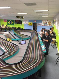 Slot Car Race Track, Slot Car Racing, Slot Car Tracks, Slot Cars, Race Cars, Diecast, Circuit, Houston, Have Fun