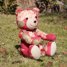 Stuffed Teddy Bear & Koala sewing pattern softie by XanthePatterns