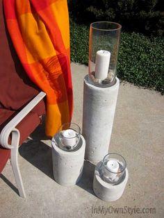 Concrete-Candle-Column